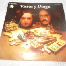 Discos de vinilo: VICTOR Y DIEGO A VOSOTROS . Lote 180444830