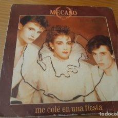 Discos de vinilo: DISCO VINILO SINGLE MECANO. Lote 180448296