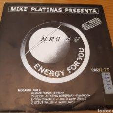 Discos de vinilo: DISCO VINILO SINGLE PROMO MIKE PLATINAS. Lote 180449572