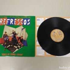 Discos de vinilo: JJ10- REFRESCOS KINGS OF CHUNDA CHUNDA ESP 1990 LP VIN POR VG + DIS VG +. Lote 180452937