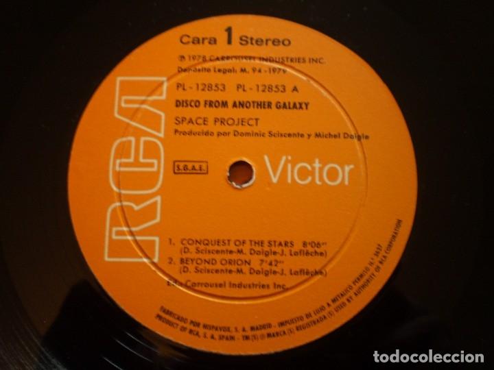 Discos de vinilo: LP. SPACE PROJECT. ANOTHER GALAXY. BUENA CONSERVACION - Foto 2 - 180453970