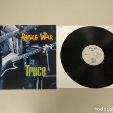 Discos de vinilo: JJ10- RANGE WAR TRUCE NL 1992 LP VIN POR VG ++ DIS NM . Lote 180454792