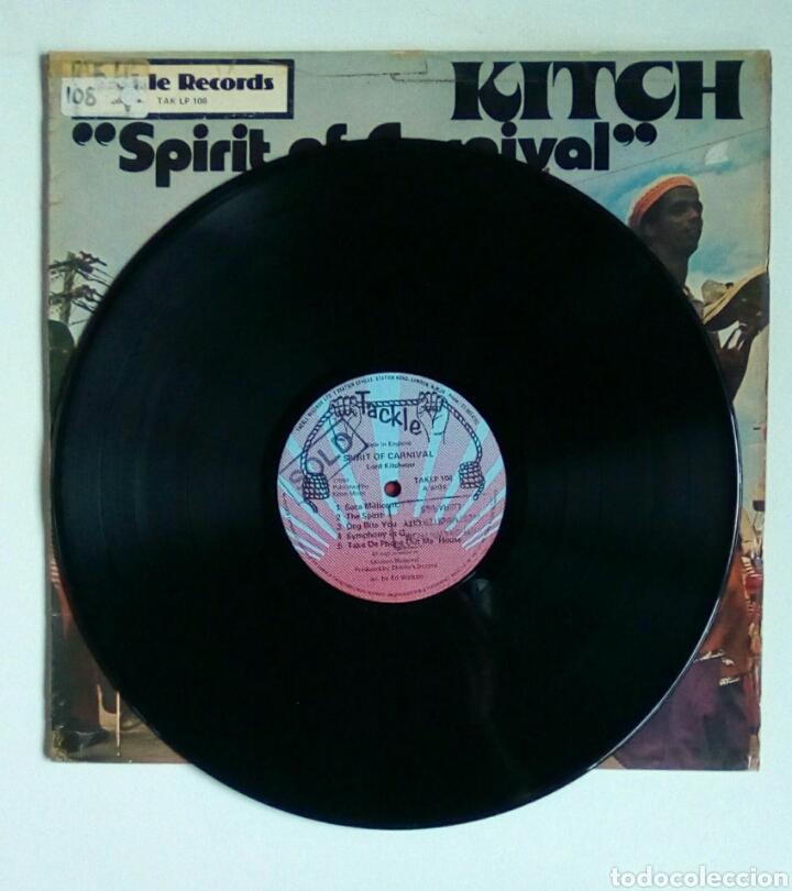 Discos de vinilo: Kitch - Spirit of carnaval, Tackle, 1978. England. - Foto 3 - 180458147