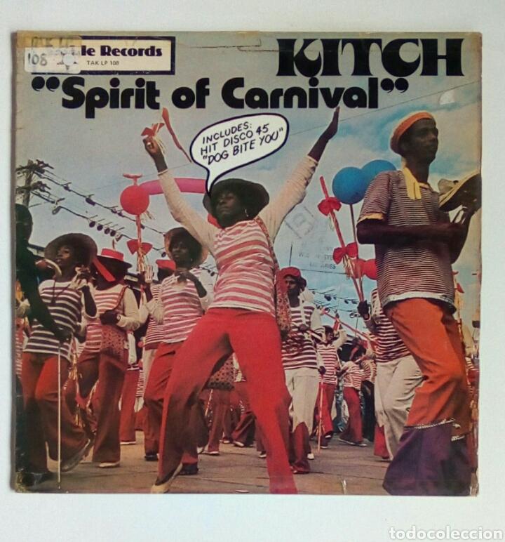 KITCH - SPIRIT OF CARNAVAL, TACKLE, 1978. ENGLAND. (Música - Discos - LP Vinilo - Reggae - Ska)