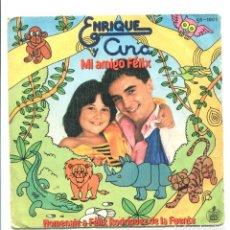 Discos de vinilo: ENRIQUE Y ANA. MI AMIGO FÉLIX. RODRÍGUEZ DE LA FUENTE. HISPAVOX 1980 . Lote 180458672