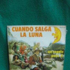 Discos de vinilo: LOS PUNTOS. CUANDO SALGA LA LUNA. SINGLE POLYDOR 1973.. Lote 180459171
