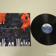 Discos de vinilo: JJ10- JERRY HARRISON CASUAL GODS WALK & WATER UK 90 LP VIN POR VG +/++ DIS NM. Lote 180459807