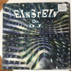 Discos de vinilo: EINSTEIN DR. DJ - BACK FROM GALACTIKA - 12'' MAXISINGLE MAX 1996. Lote 180460780