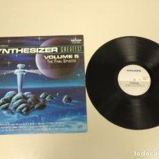 Discos de vinilo: JJ10- SYNTHESIZER VOL ESP 1991 LP VIN POR VG + DIS VG +. Lote 180460845