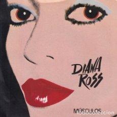 Discos de vinilo: DIANA ROSS - MUSCULOS - SINGLE ESPAÑOL DE VINILO - MICHAEL JACKSON #. Lote 180461273