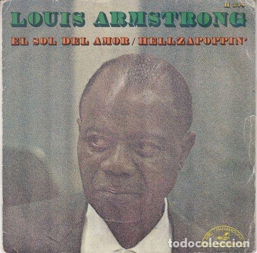 LOUIS ARMSTRONG - THE SUNSHINE OF LOVE - SINGLE ESPAÑOL DE VINILO # (Música - Discos - Singles Vinilo - Funk, Soul y Black Music)