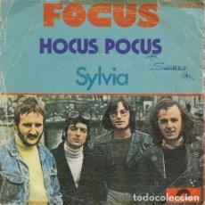 Discos de vinilo: FOCUS - HOCUS POCUS - SINGLE ESPAÑOL DE VINILO #. Lote 180462153