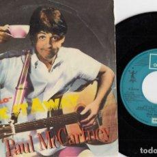 Discos de vinilo: PAUL MCCARTNEY - TAKE AWAY - SINGLE ESPAÑOL DE VINILO #. Lote 180462192