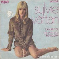 Discos de vinilo: SYLVIE VARTAN - LA MARITZA - SINGLE ESPAÑOL DE VINILO #. Lote 180462722