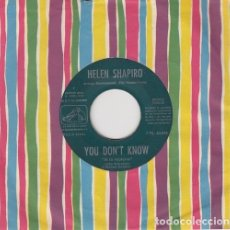 Discos de vinilo: HELEN SHAPIRO - YOU DON'T KNOW / MARVELOUS LIE - SINGLE DE VINILO PARA JUKE BOX EDITADO EN ESPAÑA #. Lote 180464066