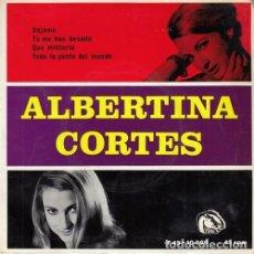 Discos de vinilo: ALBERTINA CORTES - DEJAME - EP DE VINILO - FIDIAS #. Lote 180464301