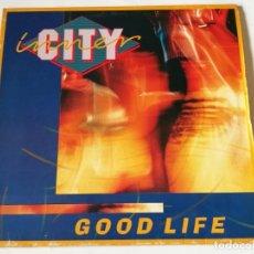 Discos de vinilo: INNER CITY - GOOD LIFE - 1988. Lote 180464960