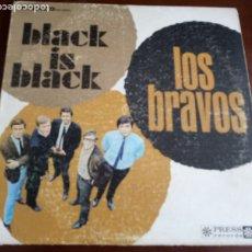 Discos de vinilo: LOS BRAVOS - BLACK IS BLACK - STEREO PRS 83003 - LP . Lote 180471480