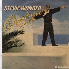 Discos de vinilo: ENVÍO CERTIFICADO - SINGLE STEVIE WONDER - MOTOWN 1985 - ENVÍO MÍNIMO EN LOTES 5 €.. Lote 180471587