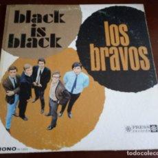 Discos de vinilo: LOS BRAVOS - BLACK IS BLACK - MONO - PR 73003 - LP -. Lote 180471865
