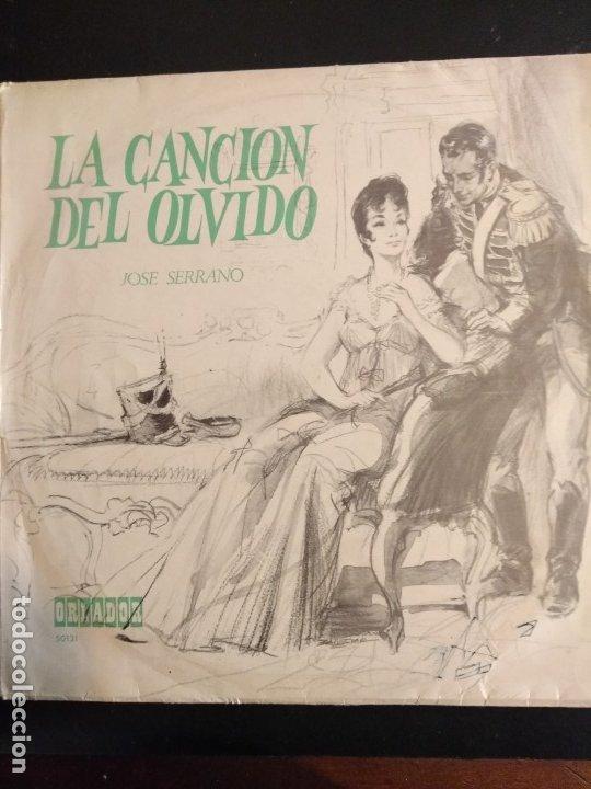 LA CANCIÓN DEL OLVIDO - ZARZUELA LP (Música - Discos de Vinilo - EPs - Clásica, Ópera, Zarzuela y Marchas)