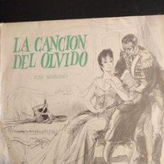 Discos de vinilo: LA CANCIÓN DEL OLVIDO - ZARZUELA LP. Lote 180472801