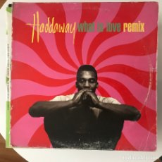 Discos de vinilo: HADDAWAY - WHAT IS LOVE (REMIX) - 12'' MAXISINGLE COCONUT 1993. Lote 180475686