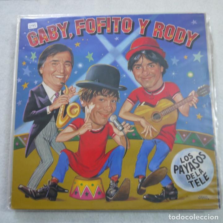GABY, FOFITO Y RODY - LOS PAYASOS DE LA TELE - MAXISINGLE 1986 (Música - Discos de Vinilo - Maxi Singles - Música Infantil)