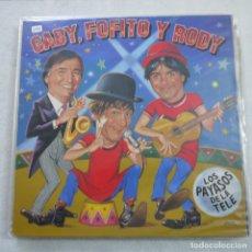 Discos de vinilo: GABY, FOFITO Y RODY - LOS PAYASOS DE LA TELE - MAXISINGLE 1986 . Lote 180481323