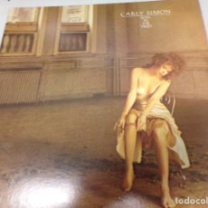 Discos de vinilo: DISCO VINILO LP - CARLY SIMON - BOYS IN THE TREES - 1978 ELECTRA. Lote 180489192