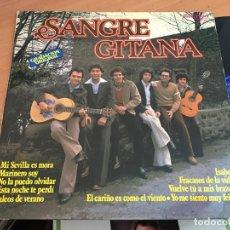 Discos de vinilo: SANGRE GITANA () LP ESPAÑA 1979 (B-7). Lote 180490576