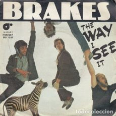 Discos de vinilo: BRAKES - THE WAY I SEE IT - SINGLE ESPAÑOL DE VINILO - POWER POP #. Lote 180491373
