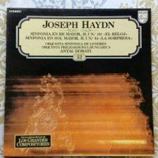 Discos de vinilo: JOSEPH HAYDN DISCO LP. Lote 180492682