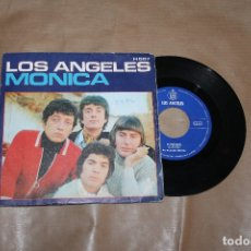 Disques de vinyle: LOS ANGELES, MONICA, SIGLE, EDIATDO POR HISPAVOX, AÑO 1970. Lote 180493435