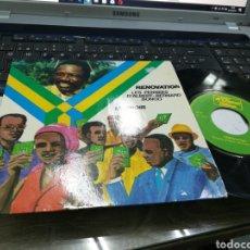 Discos de vinilo: PARTI DEMOCRATIQUE GABONAIS SINGLE RENOVATION 1974 FRANCIA. Lote 180495117