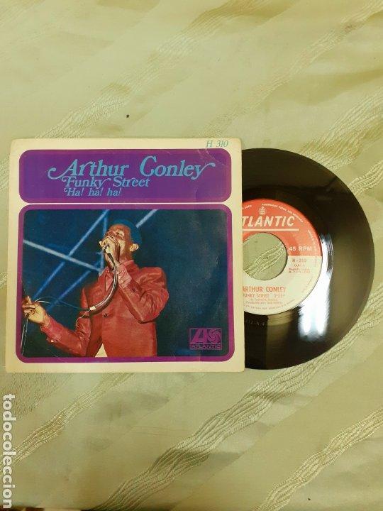 ARTHUR CONLEY- FUNKY STREET (Música - Discos - Singles Vinilo - Funk, Soul y Black Music)