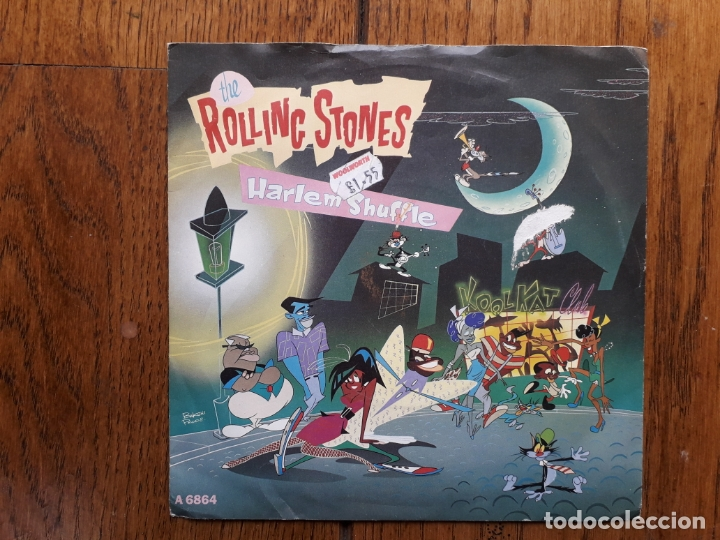 THE ROLLING STONES - HARLEM SHEFFLE + HAD IT WITH YOU (Música - Discos - Singles Vinilo - Rock & Roll)