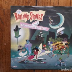 Discos de vinilo: THE ROLLING STONES - HARLEM SHEFFLE + HAD IT WITH YOU . Lote 180498437