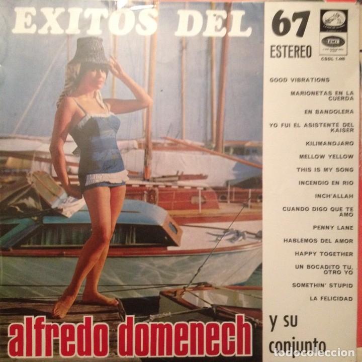 ALFREDO DOMENECH EXITOS DEL 67: INCLUYE PENNY LANE (BEATLES),DONOVAN,ADAMO,PALITO ORTEGA (Música - Discos - LP Vinilo - Grupos Españoles 50 y 60)