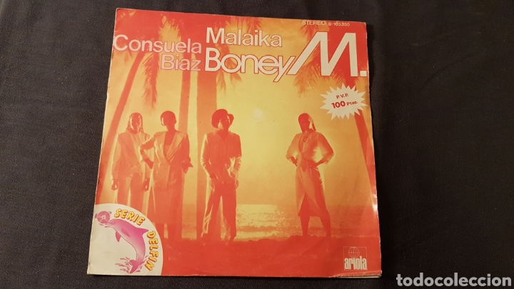 BONEY M..MALAIKA.. (Música - Discos - Singles Vinilo - Funk, Soul y Black Music)