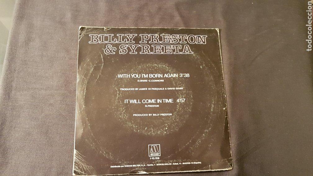Discos de vinilo: Billy preston & syreeta..with you i'm born again - Foto 2 - 180500052