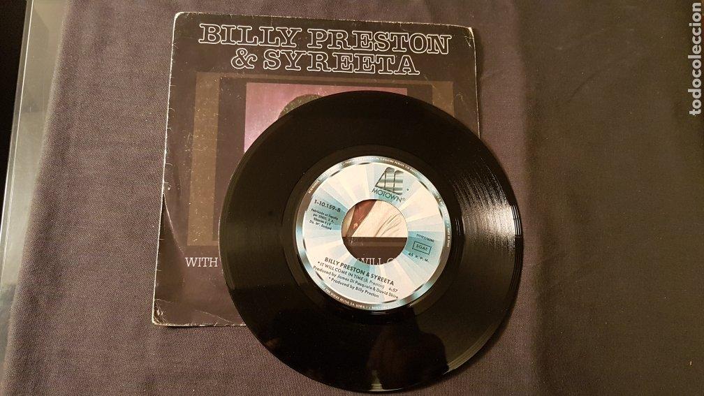 Discos de vinilo: Billy preston & syreeta..with you i'm born again - Foto 3 - 180500052