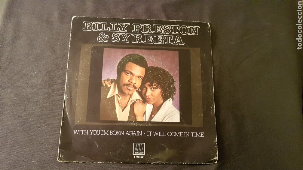 BILLY PRESTON & SYREETA..WITH YOU I'M BORN AGAIN (Música - Discos - Singles Vinilo - Funk, Soul y Black Music)