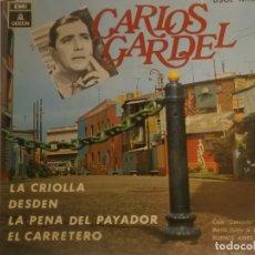 Discos de vinilo: CARLOS GARDEL-LA CRIOLLA. Lote 180500841