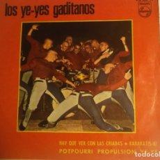 Discos de vinilo: LOS YE YES GADIATNOS-HAY QUE VER CON LAS CRIADAS. Lote 180501977