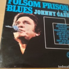 Discos de vinilo: JOHNNY CASH FOLSON PRISON BLUES VOL. 1 LP. Lote 180501992