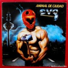 Discos de vinilo: EVO. ANIMAL DE CIUDAD. LP CON ENCARTE. VINILO. AÑO: 1983. EMI.. Lote 180502388