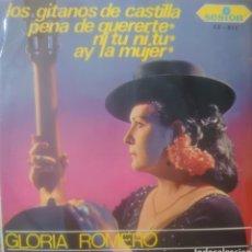 Discos de vinilo: GLORIA ROMERO EP SELLO SESIÓN EDITADO EN ESPAÑA AÑO 1966. Lote 180505657