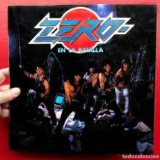 Discos de vinilo: ZERO. EN LA BATALLA. LP CON ENCARTE. VINILO. AÑO: 1985. RCA.. Lote 180506202