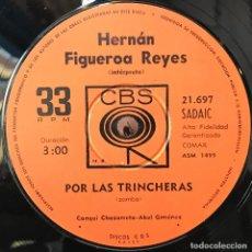 Discos de vinilo: SENCILLO ARGENTINO DE HERNÁN FIGUEROA REYES AÑO 1968. Lote 57655193